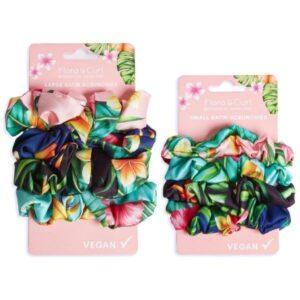 Flora & Curl Satin Scrunchies