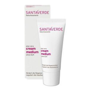 Santaverde Aloë Vera Cream Medium Zonder Parfum